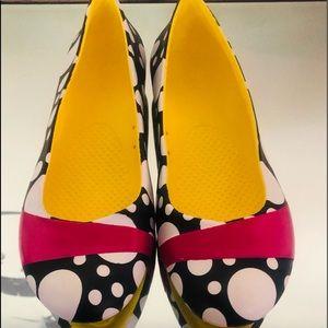 CROCS Gianna Mondo Multicolored Flats WMS SZ W8
